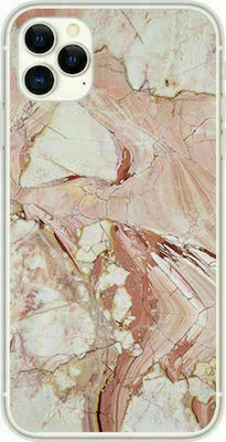 Marble TPU case cover for iPhone 12 Pro Max pink