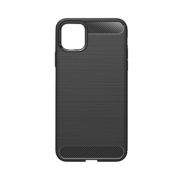 Apple iPhone 12 Mini Θήκη Rugged Carbon TPU – Black