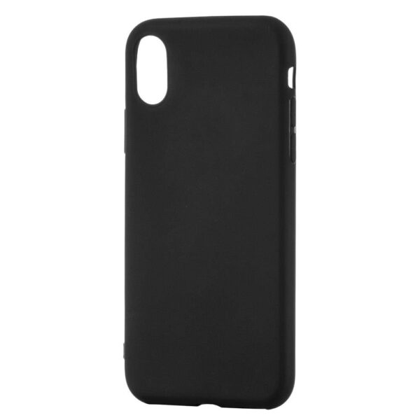 Soft Matt Case Gel TPU Cover for Huawei Mate 20 Lite black