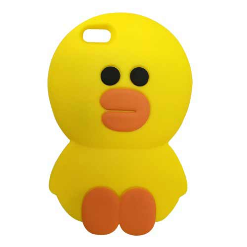 iPhone-5-3D-Silicone-Case-Yellow-Duck-(1)-500×500